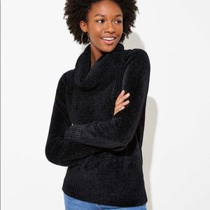 Loft Chenille Cowl Neck Sweater New Without Tags
